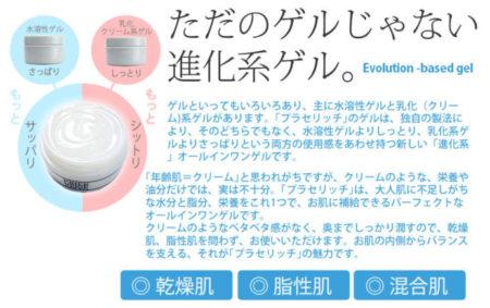 白くま化粧品 薬用プラセリッチゲル 浸透 (1)