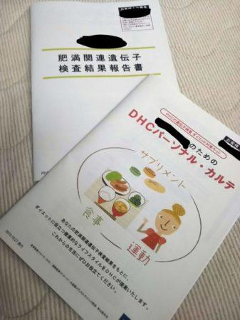 DHCダイエット対策キットの冊子