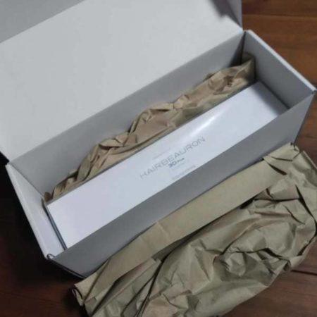 箱を開けたらヘアビューロン3D ストレート (1)